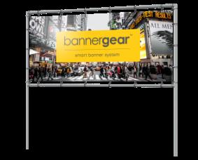 Reklama wolnostojąca bannergear™ model Banner Tube