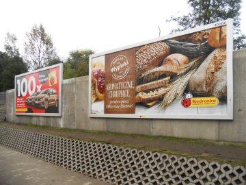 Ramy reklamowe - Realizacja Biedronka - ramy bannergear - model: Wall Slim