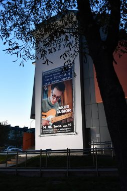 Centrum Kultury Raszyn - Rama reklamowa bannergear - model Hig Dimension