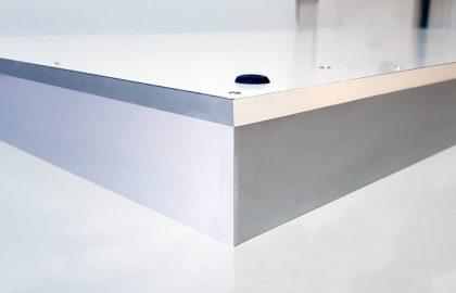 Rama reklamowa Light Box widok profilu aluminiowego